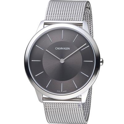 Calvin Klein Minimal系列極簡米蘭帶腕錶(K3M2T124)