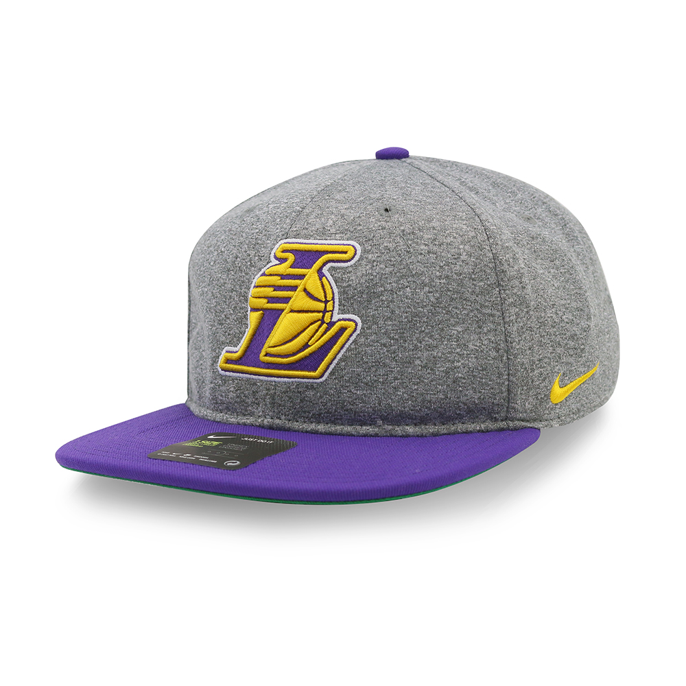NIKE NBA 隊徽灰帽 湖人隊 869928091