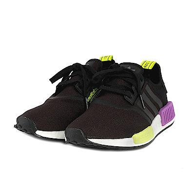 ADIDAS  NMD R1 休閒運動女鞋 (黑/紫)