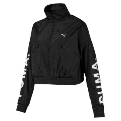 PUMA-女性流行系列Chase風衣外套-黑色-歐規