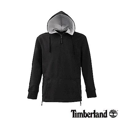 Timberland男款黑色CamoOverheadHoodie 運動衫|A1NKU