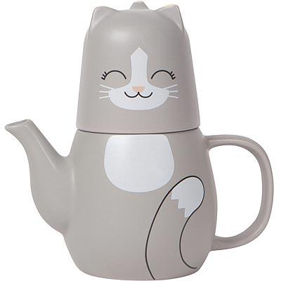 《NOW》貓咪子母壺杯(473ml)