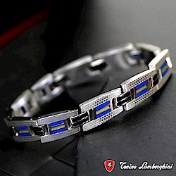 藍寶堅尼Tonino Lamborghini CORSA Blue手鍊(藍) 防抗過敏