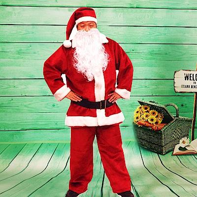 派對造型服-聖誕老人服裝(豪華5件套組)