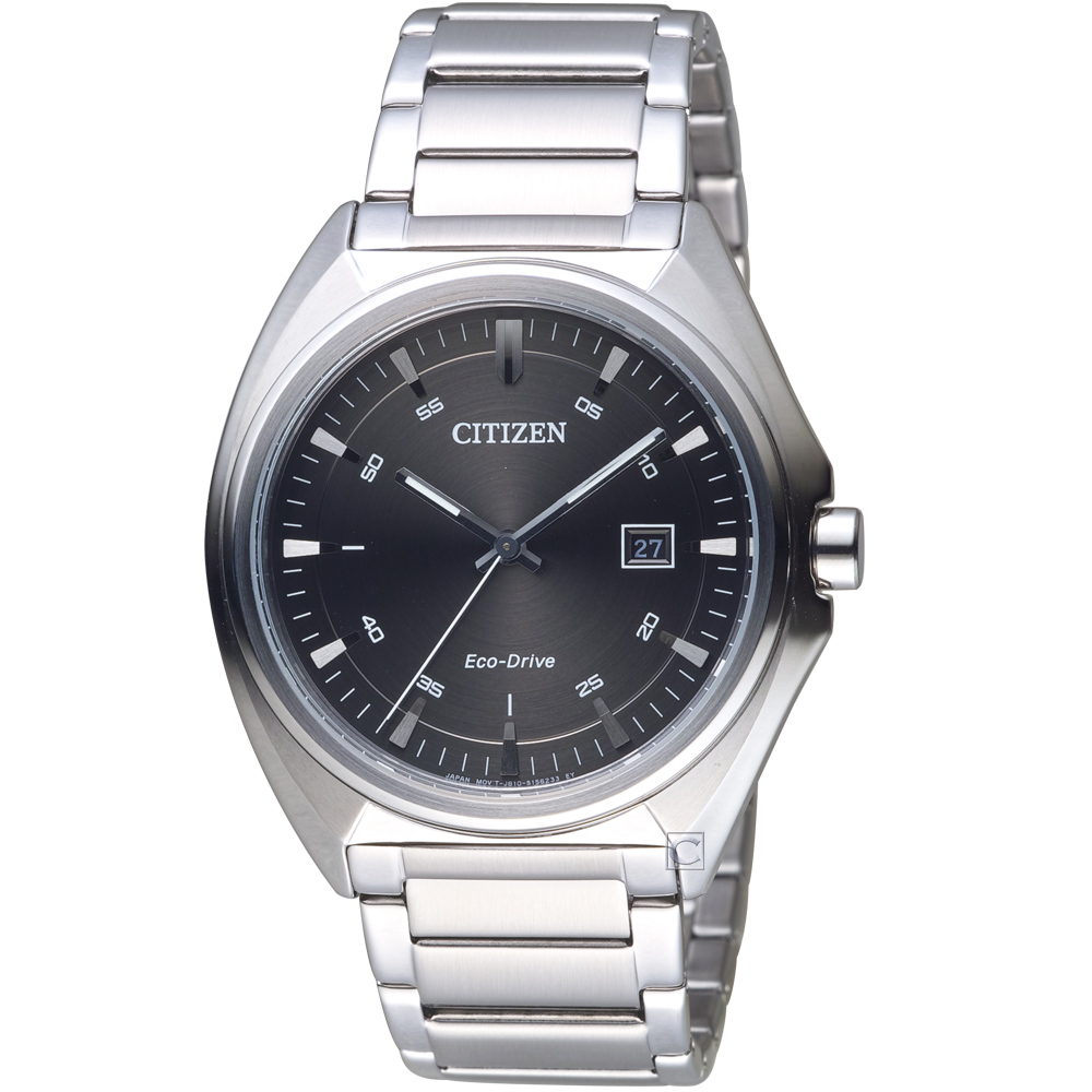 CITIZEN Eco-Drive 光速軌道時尚錶(AW1570-87H)灰/42mm