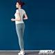 STL yoga Light Quickdry legging 韓國『超高腰』運動機能 壓力訓練緊身褲 9分 乾燥寶寶藍 瑜珈/重訓/戶外/機能/登山/路跑 product thumbnail 1