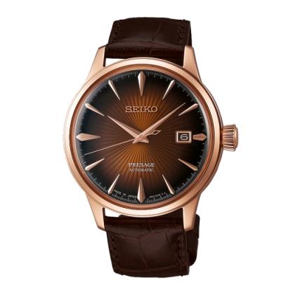 SEIKO PRESAGE 紳士品味機械腕錶4R35-01T0P/SRPB46J1
