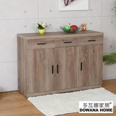 多瓦娜-蓋厲害4尺餐櫃-二色-寬120深40.5高84.5公分