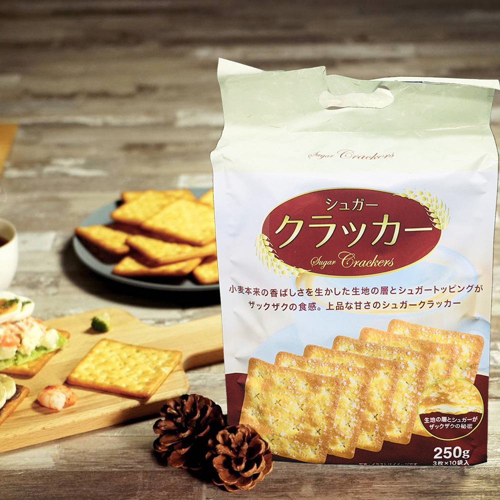 HupSeng 滿足感甜味蘇打餅 (250g)