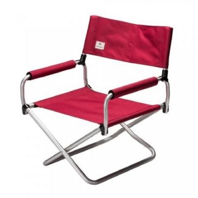 SNOW PEAK LV-075RD 寬版摺疊椅 40 紅  2019全新商品