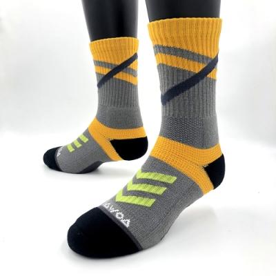 【WOAWOA】能量激發登山襪-高筒(登百岳推薦款 台灣製 厚底 透氣 運動襪 襪子 除臭襪 機能襪 )