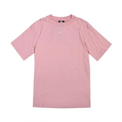 Nike T恤 NSW Essential Top 女款 NSW 運動休閒 基本款 流行 穿搭 粉 白 DH4256631