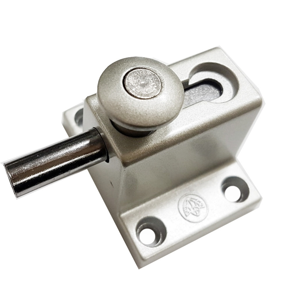 HE015 落地門 落地窗門閂/門栓/高閂/閂座/栓座/高腳門閂(高級門閂 兩用型)