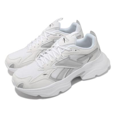 Reebok 休閒鞋 Royal Bridge 4 運動 男女鞋 復古 舒適 簡約 厚底 球鞋 情侶穿搭 白 灰 GV7139