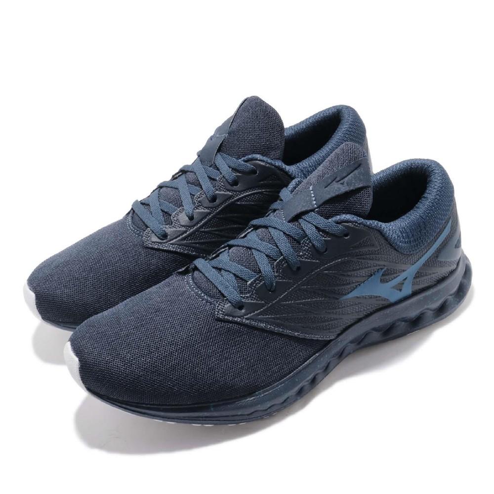 Mizuno 慢跑鞋 Wave Polaris 運動 男鞋