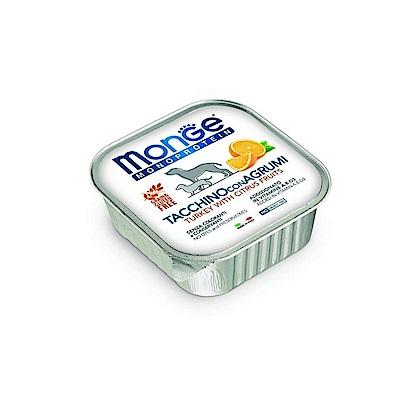 Monge 頂級義大利系列無榖水果肉醬狗餐盒 150g 24盒組