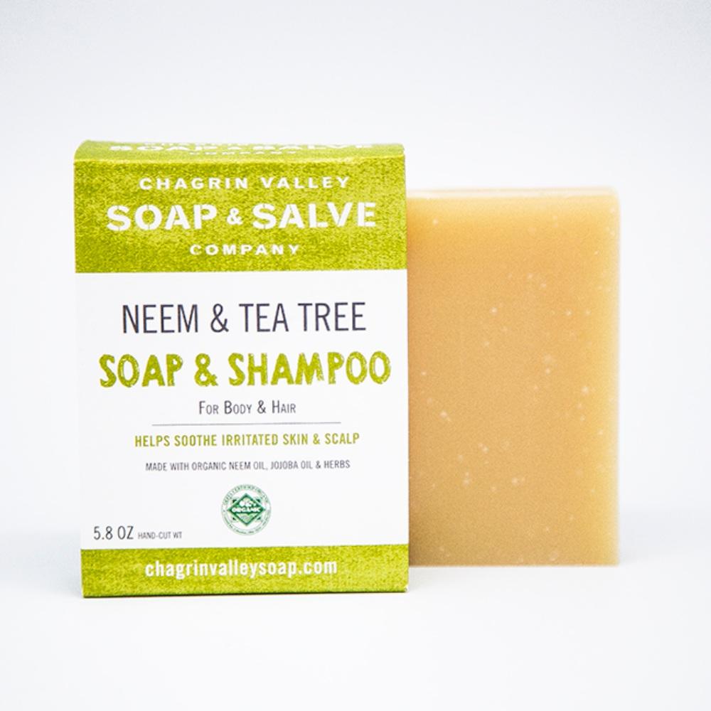 美國Chagrin Valley 有機印度苦楝樹全身沐浴洗髮手工皂 5.8 OZ