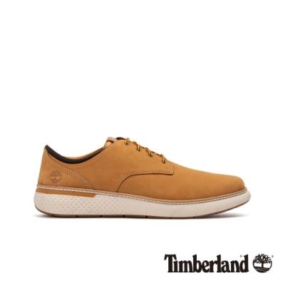 Timberland 男款小麥色磨砂革牛津休閒鞋|A2BUN