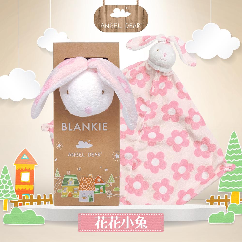 美國 Angel Dear 動物嬰兒安撫巾禮盒版 (兔寶寶系列)