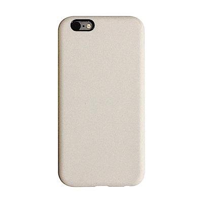 【TOYSELECT】iPhone SE2/7/8 文藝液態矽膠全包防摔殼:古董白
