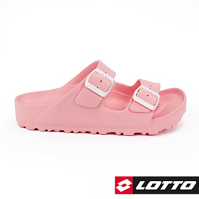 LOTTO 義大利 童 BURANO拖鞋 (粉)