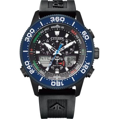 CITIZEN星辰PROMASTER注目潮流光動能手錶 JR4065-09E-44mm