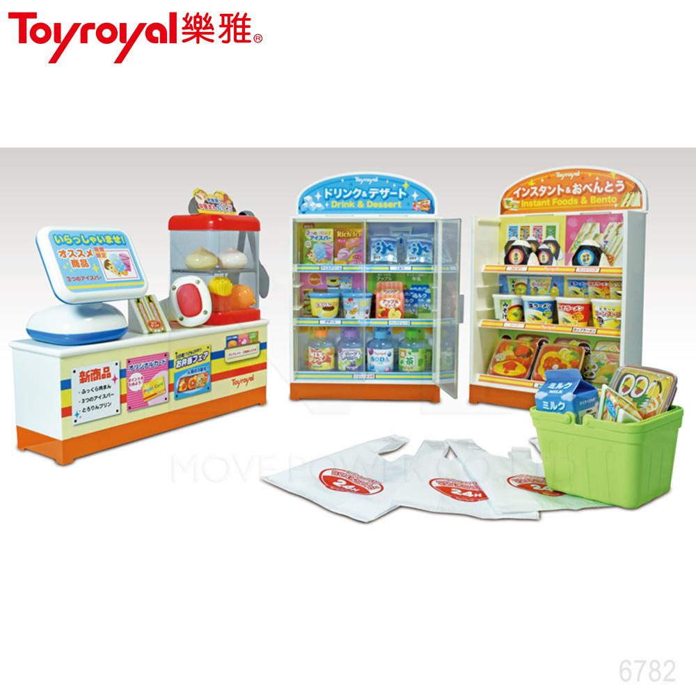 日本《樂雅 Toyroyal》小小便利商店組