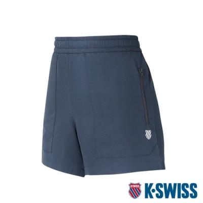 K-SWISS Pocket Shorts運動短褲-女-黑