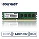 Patriot美商博帝 DDR3 1600 8GB桌上型記憶體 product thumbnail 1
