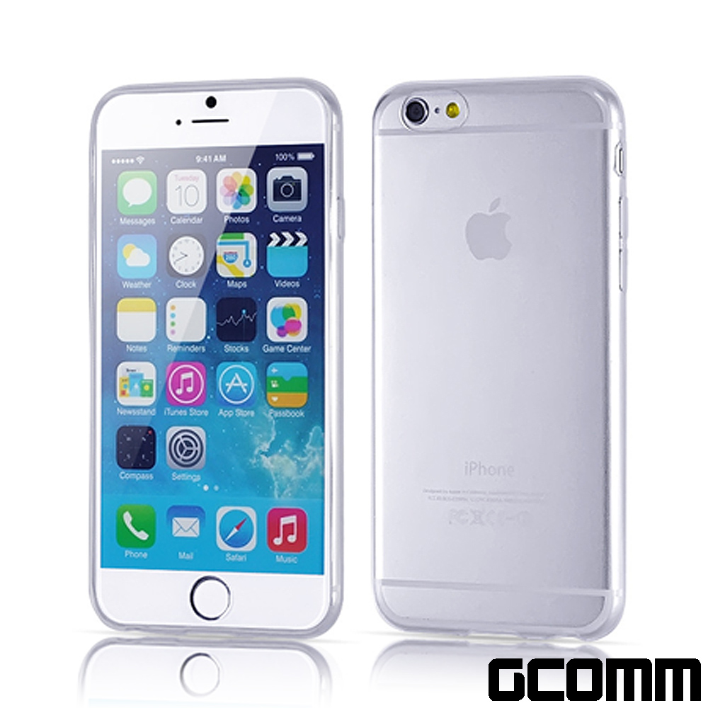 GCOMM iPhone6S+/6+ 超薄清透柔軔保護套 Slim Crystal