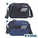 K-SWISS Tw-Shoulder Bag休閒斜背包-兩色任選