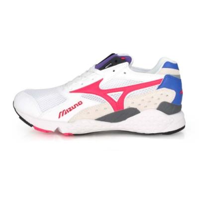 MIZUNO男1906系列休閒慢跑鞋 MONDO CONTROL 白桃紅紫藍