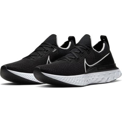 NIKE 運動鞋 輕量 慢跑 路跑  男鞋  黑 CD4371002 REACT INFINITY RUN FK