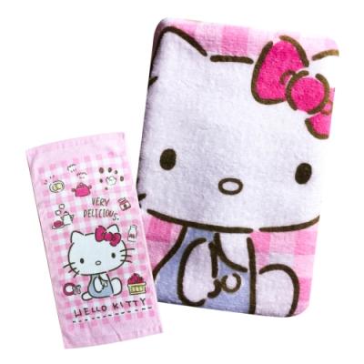 Sanrio三麗鷗授權-Hello Kitty凱蒂貓料理童巾 6入