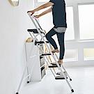 Home Feeling 簡約五層可折疊樓梯椅/A字梯/家用梯