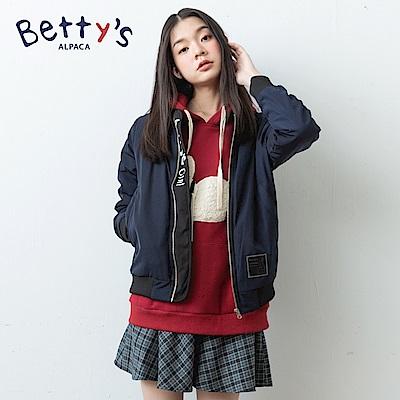 betty's貝蒂思 英倫格紋混羊毛短裙(藍色) @ Y!購物
