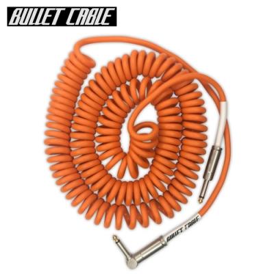 Bullet Cable 30CCO IL 捲捲樂器專用導線線材 5.25公尺 橘色款