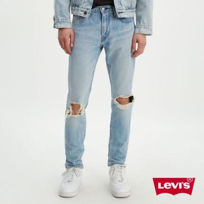 Levis男款上寬下窄 512Taper 低腰修身窄管牛仔褲 橫向彈性延展