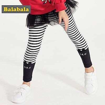 Balabala巴拉巴拉-可愛貓咪造型內搭褲-女(3色)