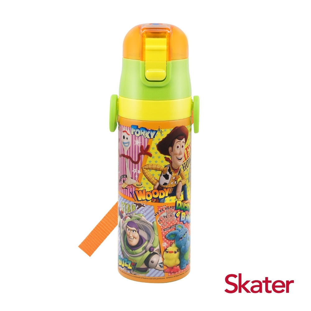 Skater直飲470ml不鏽鋼水壺-玩具Comics
