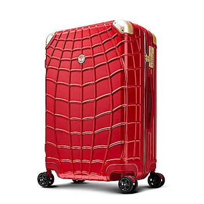 Marvel 復仇者聯盟系列 25吋 新型拉鍊行李箱-紅蜘蛛人