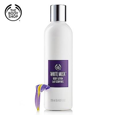 The Body Shop 白麝香絲柔身體潤膚乳-250ML