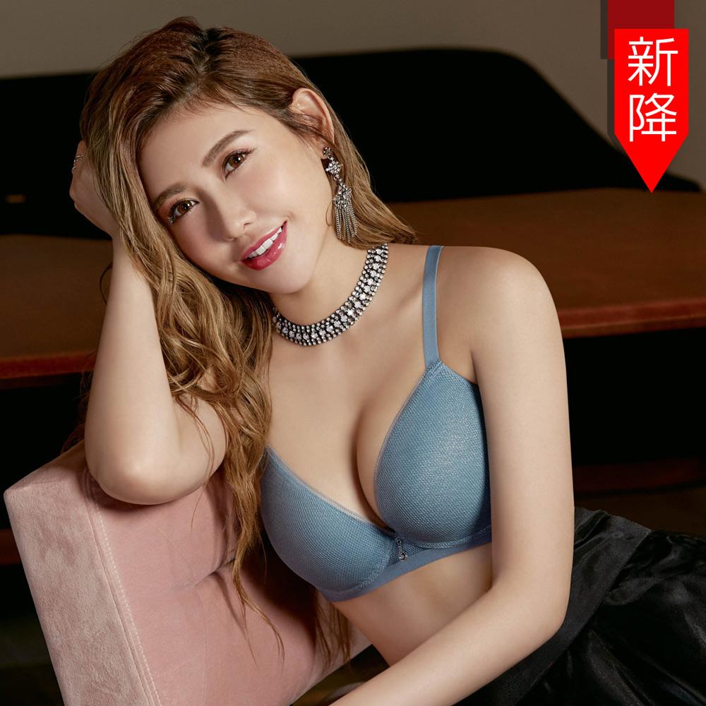 瑪登瑪朵 身呼吸內衣  B-F罩杯(結晶藍)
