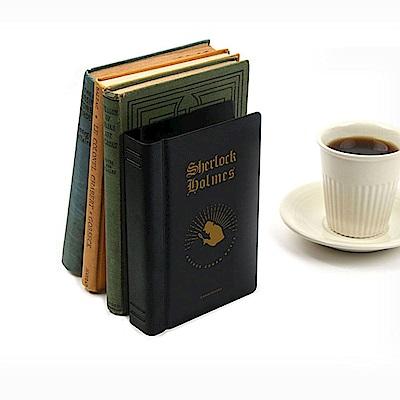 bookfriends 世界文學仿書金屬書擋-福爾摩斯-右