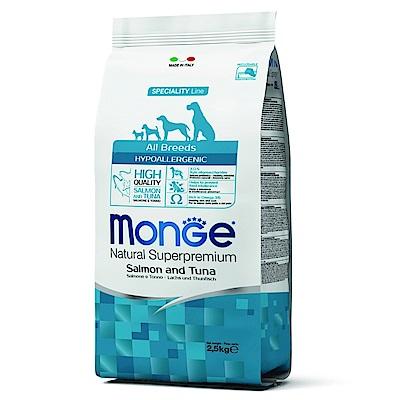 Monge Natural 天然特選 成犬 鮭魚+鮪魚配方 2.5KG