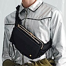 PORTER - 內斂雅致BOOMING簡約時尚腰包 - 黑