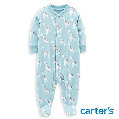 Carter s 長頸鹿印圖包腳連身裝
