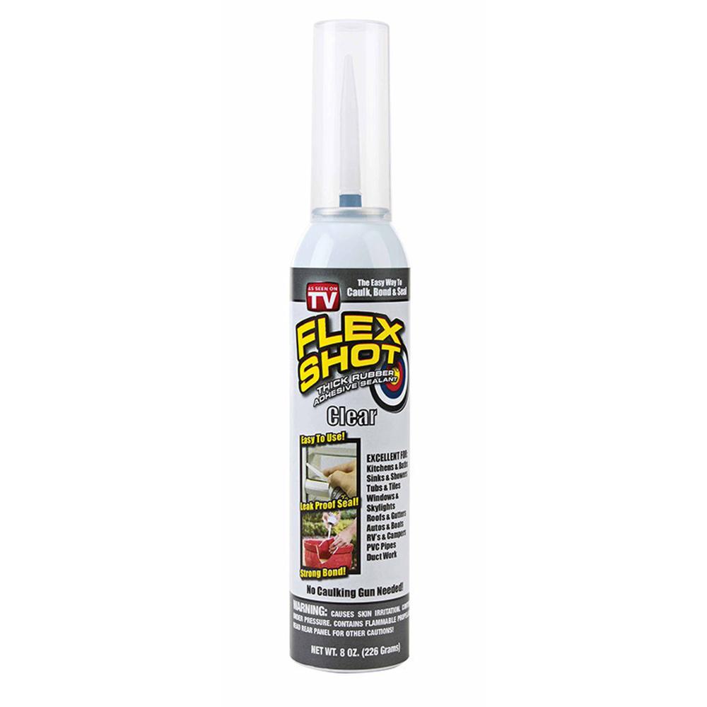 美國FLEX SHOT速效填縫膠-透明色(附噴嘴)