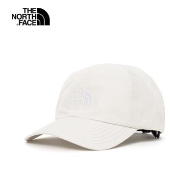 The North Face 男女 防水透氣棒球帽 米白-NF0A3SHG11P