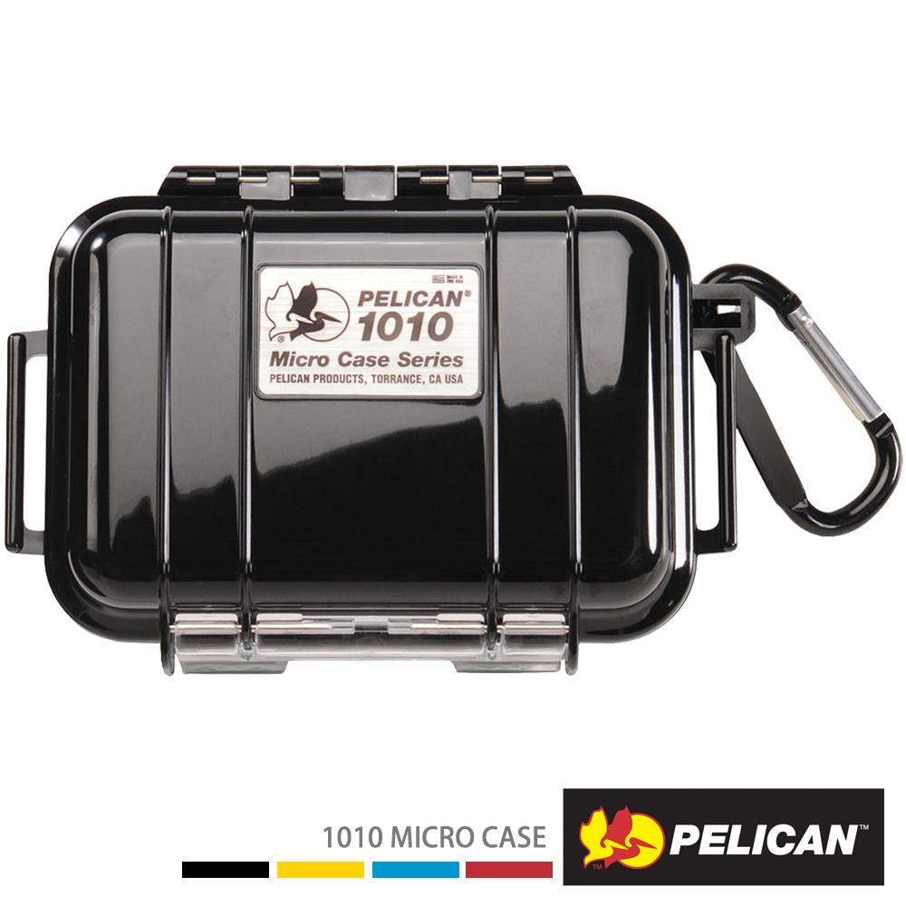 美國 PELICAN 1010 Micro Case 微型防水氣密箱-(黑)